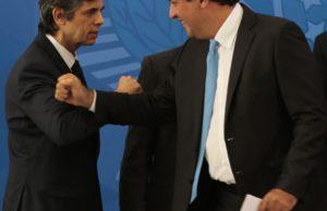 Dois ex-ministros da Saúde - Nelson Teich e Mandetta